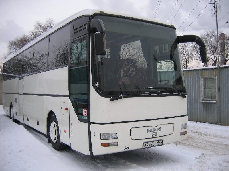 Выезд за МКАД 45 р/км. стоимость обсуждается. кондиционер. аудио-, видеосистема... посадочных мест в автобусе: 49+1.